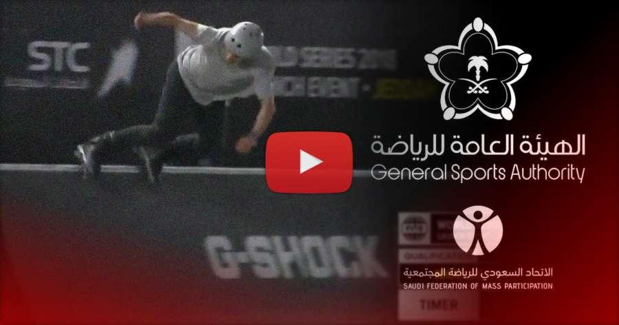 Nicolas Servy - 1st place, Roller Freestyle Pro Qualifier - Fise Jeddah 2018