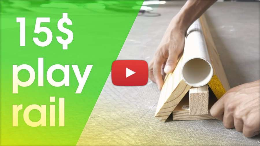 How to Build a PVC Skating Play Rail With Less Then 15 Dollars