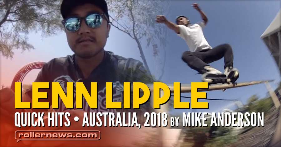 Lenn Lipple - Quick Hits (Australia, 2018) by Mike Anderson