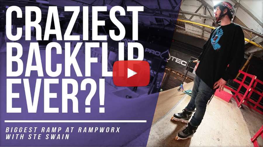 The Craziest Skate Flip Ever?! With Stephen Swain