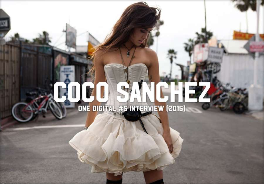 One Mag, Digi v.5 - Coco Sanchez Interview (2015)