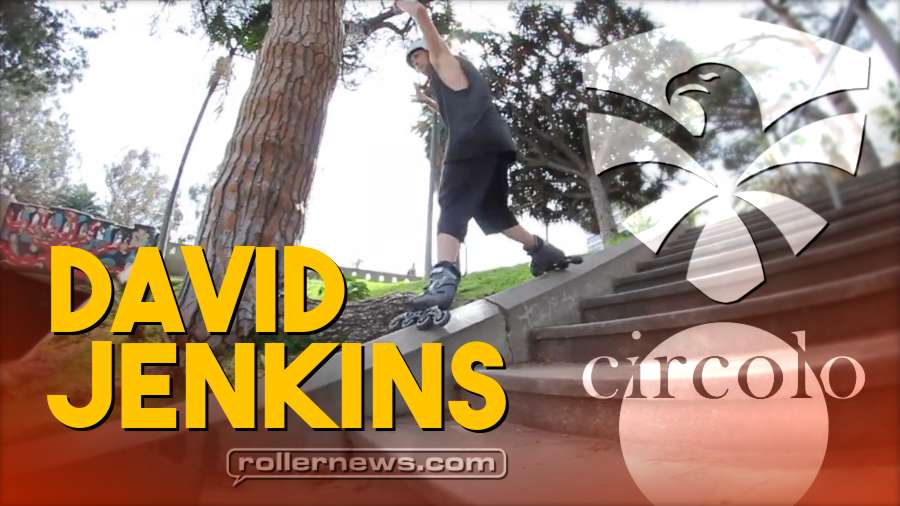 Big Wheels Blading: David Jenkins for Flying Eagle Skates - Circolo Edit (2018)