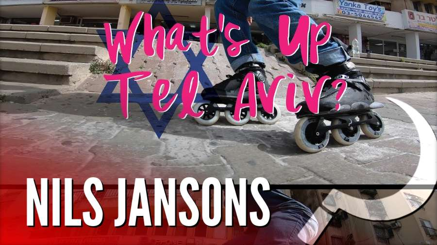 Nils Jansons - What's up Tel Aviv? - Freeskating Israel - Ground Control Frames