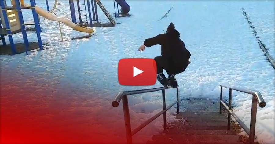 Brett Dasovic - Winter Blading (Version 2) - 2018
