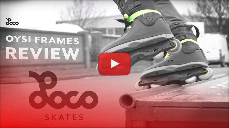 Oysi Frames - Locoskates Review by Jake Eley (2018)