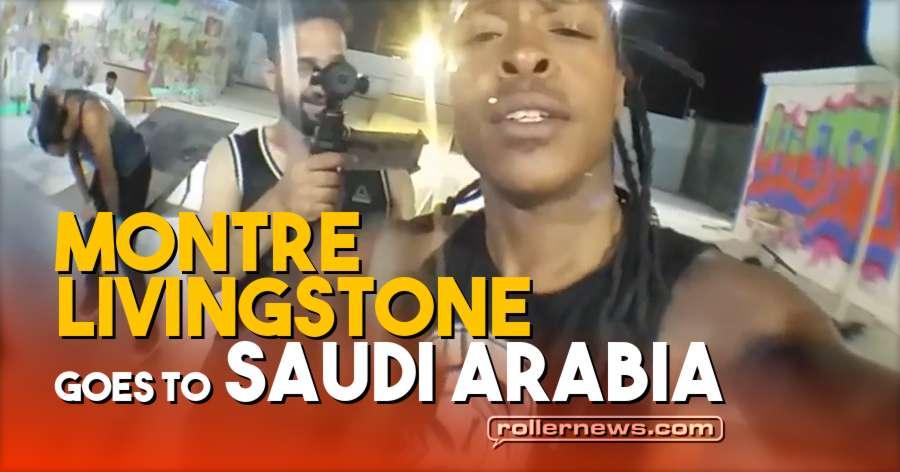 Montre Livingston goes to Jeddah (Saudi Arabia, 2018)
