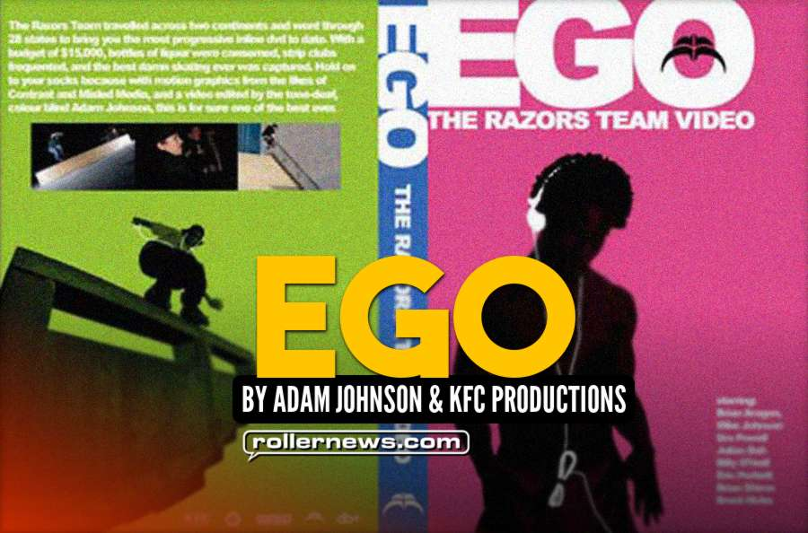 Ego a Razors Team Video - by Adam Johnson and KFC Productions - Full Video (WIP)