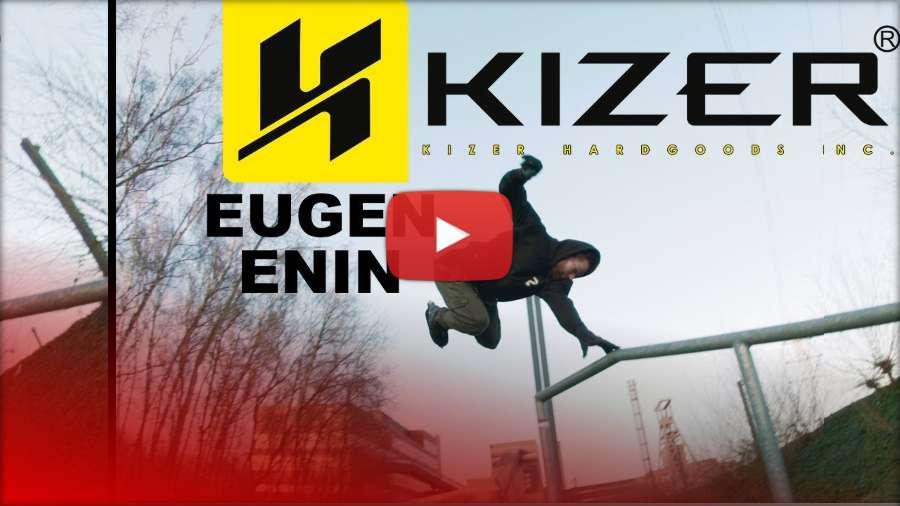 Eugen Enin on KIZER Slimline II frames - Kizer Skate 2018