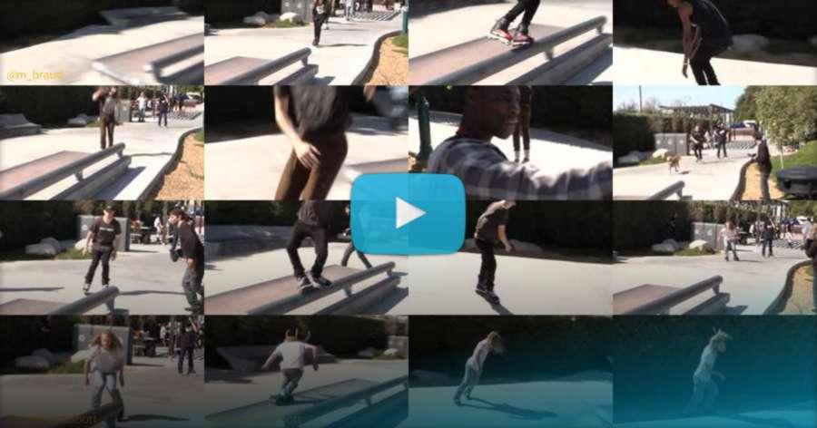 Keaton Newsom - Memorial Session (Emeryville Skatepark, 2018) by Gary Magill