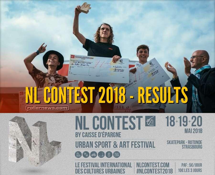Nouvelle Ligne - NL Contest 2018 (Strasbourg, France) - Results