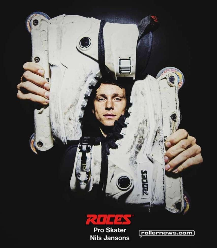 Roces Pro Skater - Nils Jansons (June 2018)
