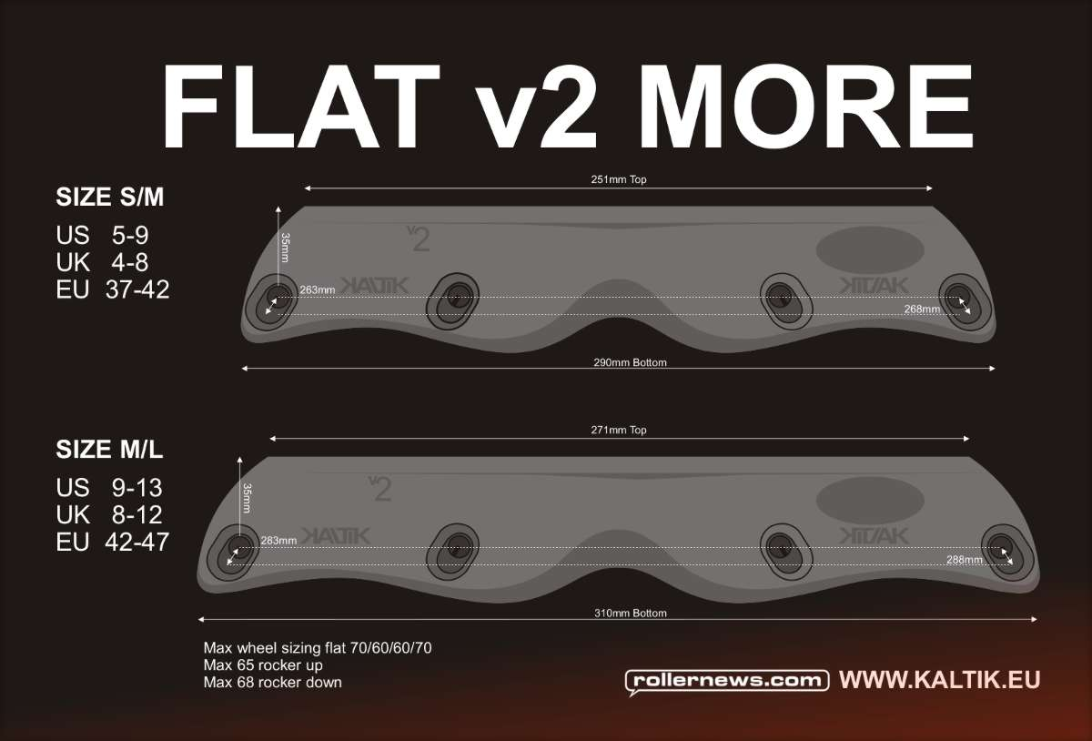 Kaltik Flat V2 MORE - soon available on Kaltik.eu