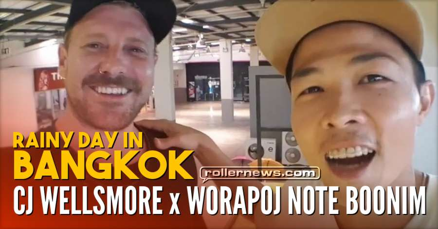 CJ Wellmore - Rainy Day Session in Bangkok (2018) with Worapoj Note Boonim