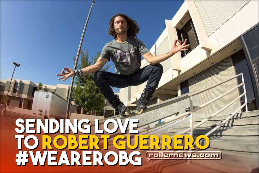 Sending Love to Robert Guerrero #WeAreRobG