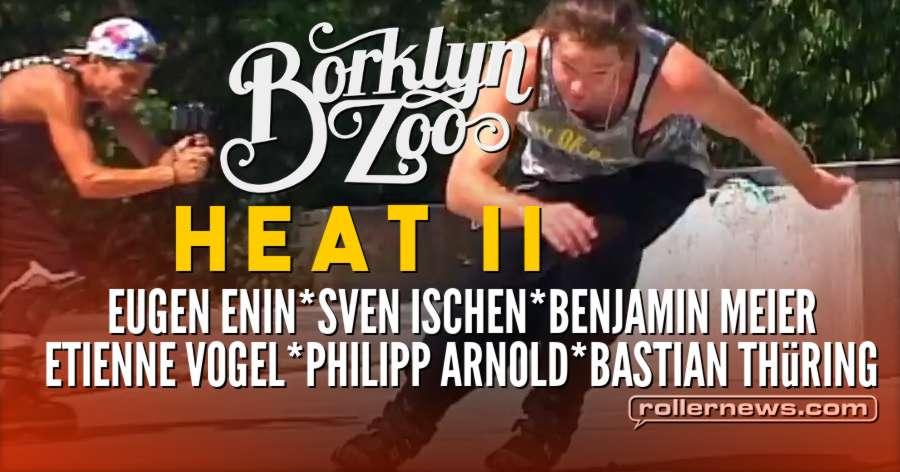 Borklyn Zoo - Heat II (2018) with Eugen Enin, Sven Ischen & Friends (Germany)
