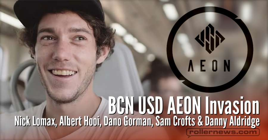 BCN USD Aeon Invasion (2018) with Nick Lomax, Albert Hooi, Dano Gorman, Sam Crofts & Danny Aldridge