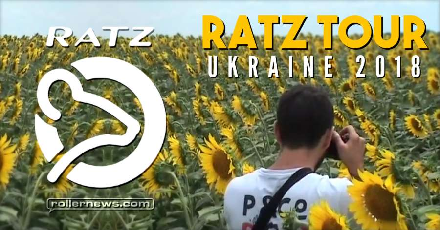 Ratz Tour - Ukraine 2018 with Gaston Michel, Stan Kogutyak, Ronan Algalarrondo & Friends