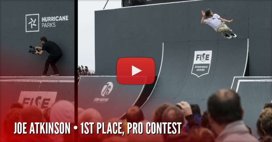 FISE Xperience Le Havre 2018 - Results | First Place: Joe Atkinson (Video Run)
