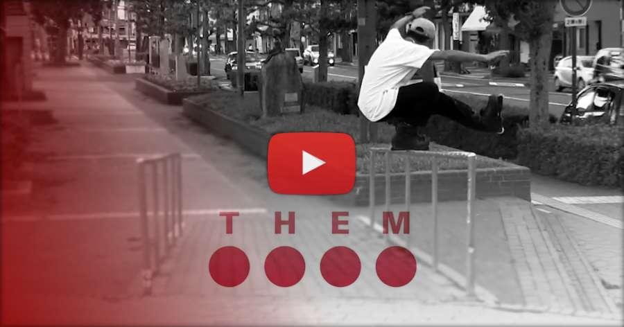 Soichiro Kanashima on Them Skates (October 2018)