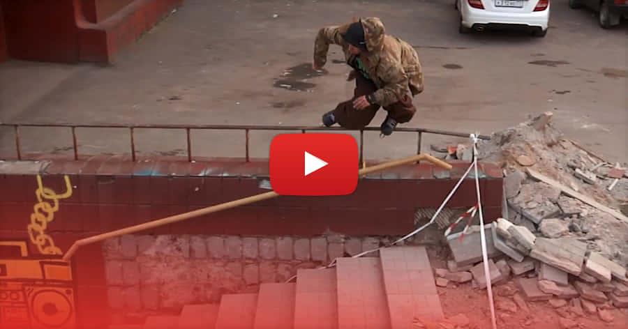 Dima Makrushin - Makro Hood Rollerblading (2021, Russia) - Plastik Mag Edit