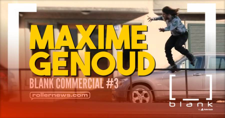 Maxime Genoud (Switzerland) - Blank Commercial #3 by Taylor Kobryn