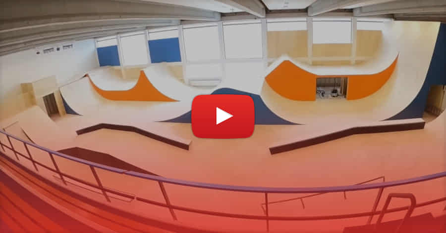 New Indoor Skatepark in Amsterdam: House of Urban Sports (2021) with Eric Droogh & Friends