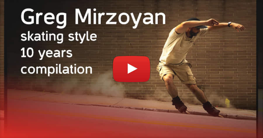 Greg Mirzoyan's Skating Breakdown - 10 Years Compilation (2019)