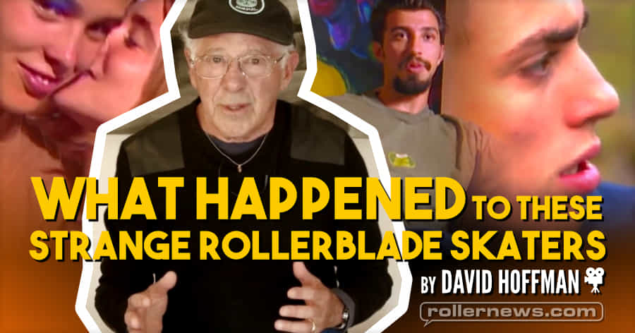 What Happened to These Strange Rollerblade Skaters (2019) by David Hoffman