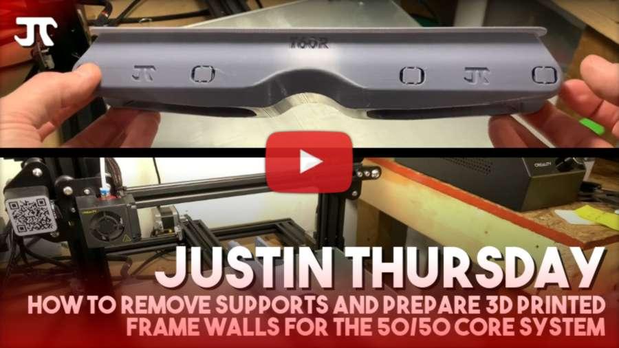 Justin Thursday - 3d Printing Skating Parts (2021)