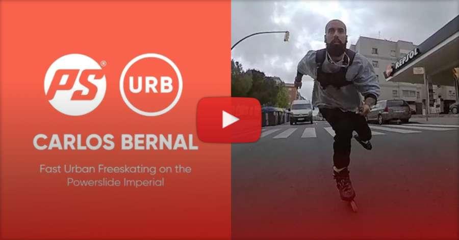 Carlos Bernal - Fast Urban Freeskating on the Powerslide Imperial (Barcelona, 2021)
