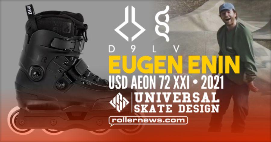 Eugen Enin on USD Aeon 72 XXI (Germany, 2021) - USD Skates Edit by Daniel Enin