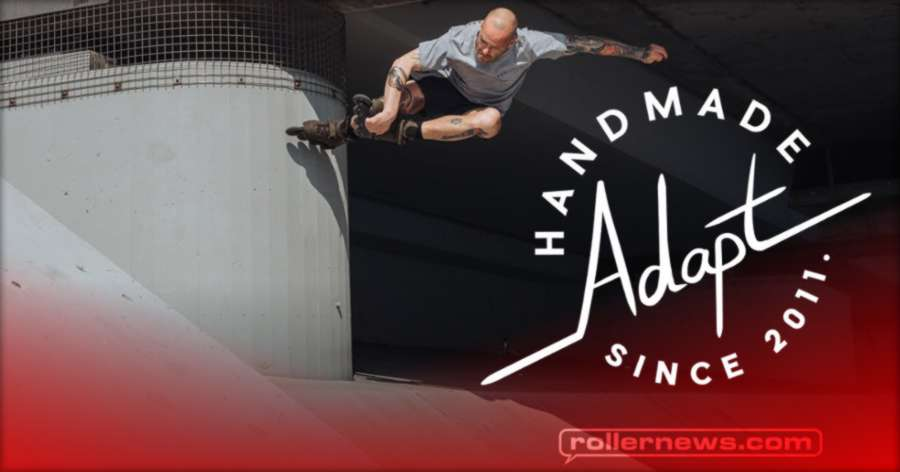 Adrian Deck Skates the Symetrics UFS Big Wheel Frames (Adapt Edit, 2021)
