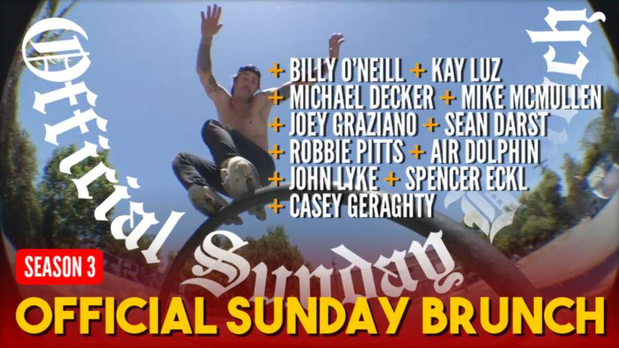 Official Sunday Brunch - Season 3 out June 1st, 2021 - with Billy O'Neill, Sean Darst, Robbie Pitts, John Lyke & Friends