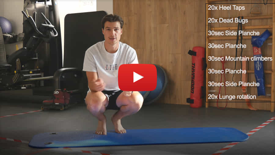 Core Work Out - Danny Beer Pro Model (2021) with TheBladingPhysio