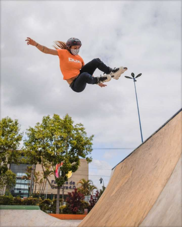 Fabiola Da Silva in São Bernardo do Campo's Skatepark - Picture of the day