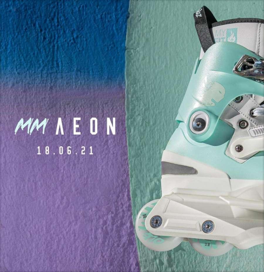 Usd Aeon Mery Munoz Pro Skates - Promo Pic