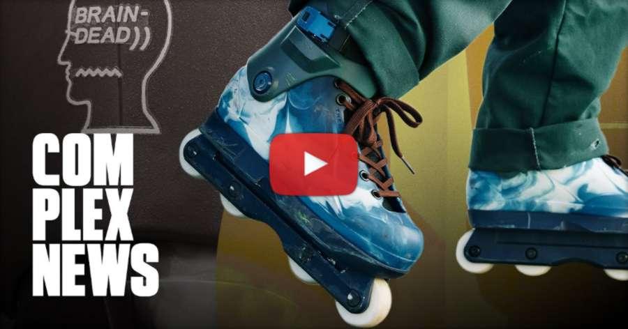 Brain Dead X Them Skates the New Future of Rollerblading