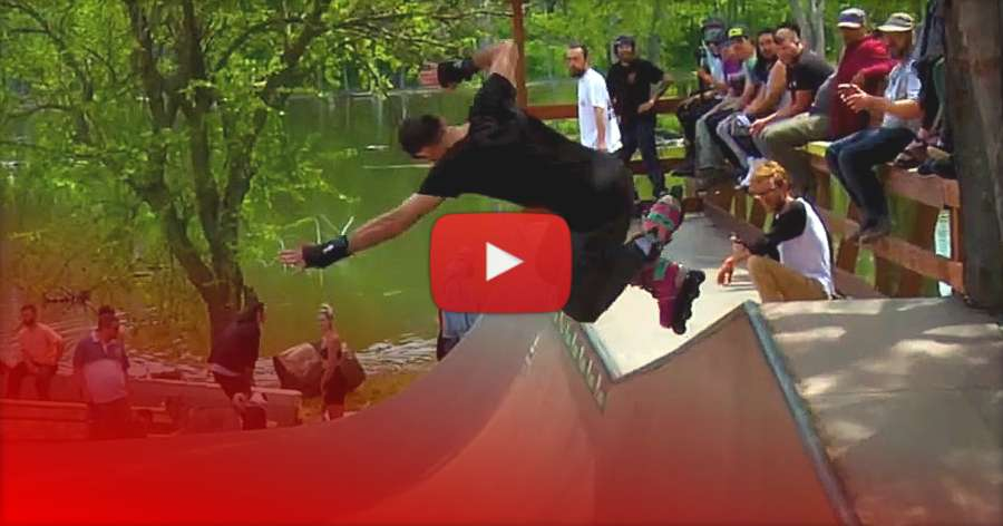 Schmidty's Ramp and Camp 2021 - Raw Clips by Aaron Schultz