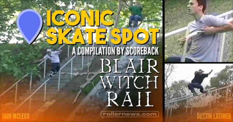 Iconic Skate Spots: Blair Witch Rail