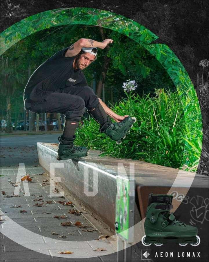USD Aeon 60 Nick Lomax Pro Skates