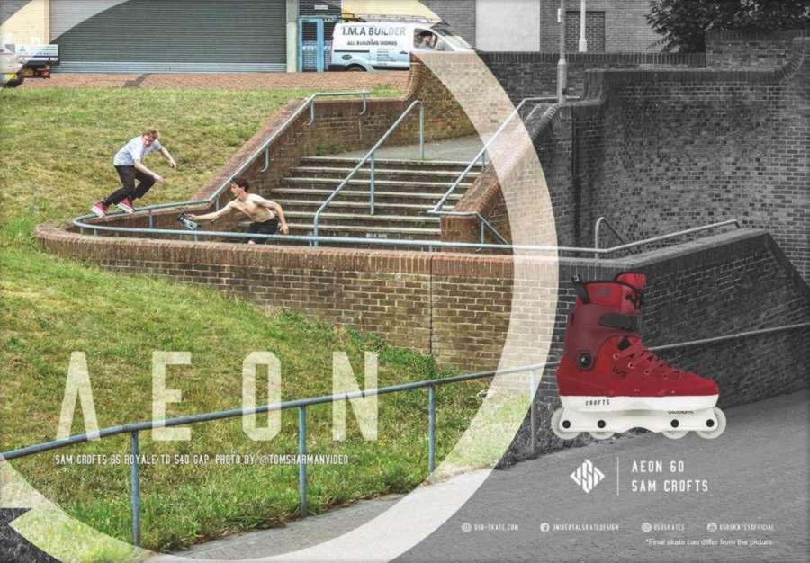 USD Aeon 60 Sam Crofts II Pro Skates
