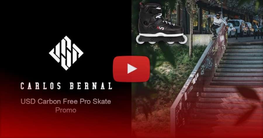 Carlos Bernal (Spain) - USD Carbon Free Carlos Bernal 2 - Pro Skate Promo Edit (2021)