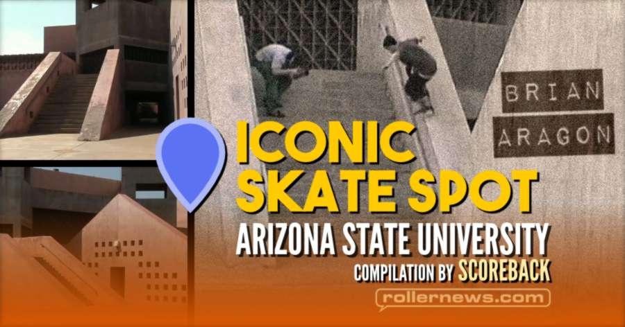 Iconic Skate Spots - ASU - Arizona State University, Art Museum in Tempe