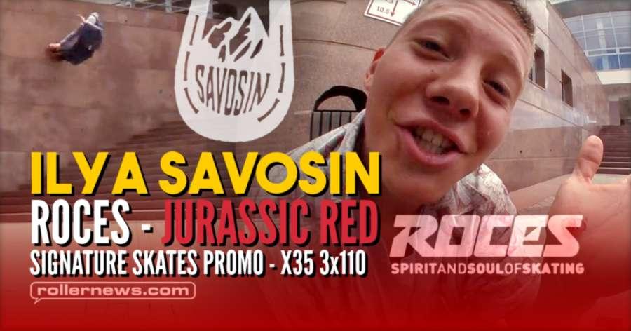 Ilya Savosin - Roces Jurassic Red Signature Skates Promo (2021) - Freeskating Edit