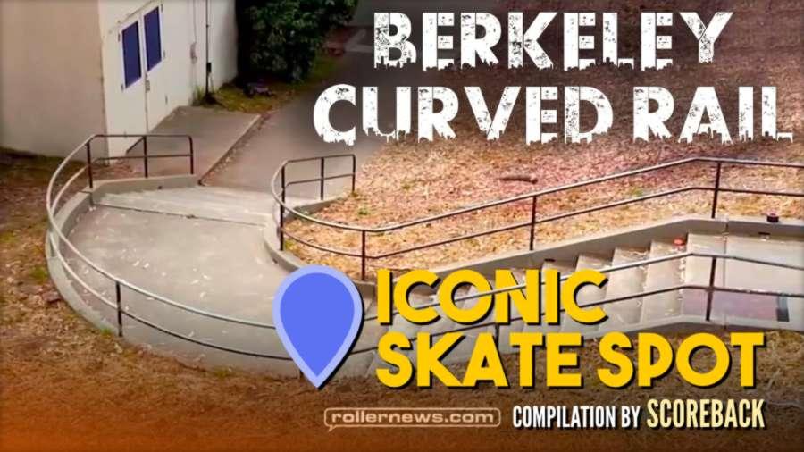 Iconic Skatespot: Berkeley Curved Rail (California)