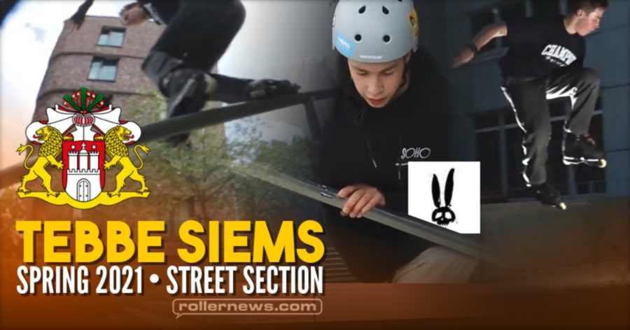Tebbe Siems (16) - Spring 2021, Street Section - Hamburg, Germany