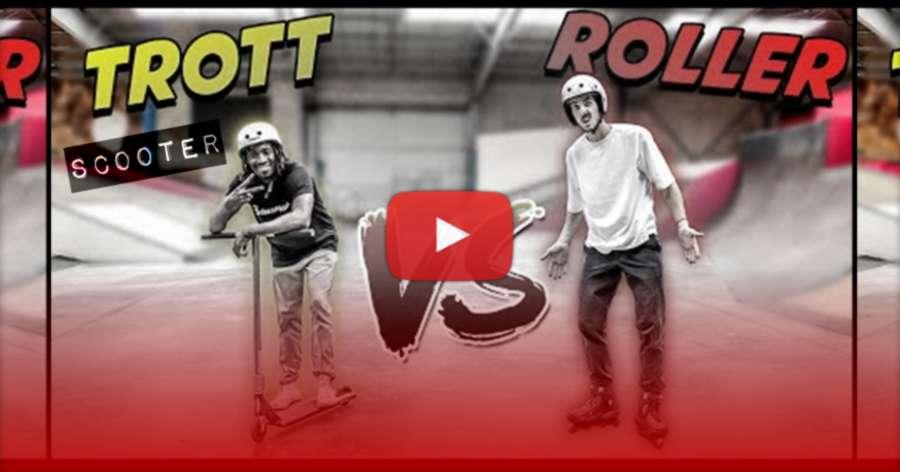 Scooter VS Rollerblades (2021) with Diako Diaby (Nomadeshop, Sebaskates) & Kilian Larher (Youtuber & Scooter Pro Rider)