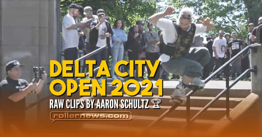 Delta City Open 2021 (Detroit, Michigan) - Raw Clips by Aaron Schultz