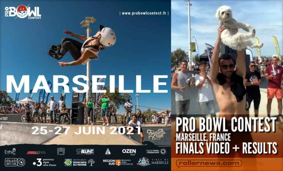 Pro Bowl Contest 2021 (Marseille, France) - France 3 Broadcast + Results