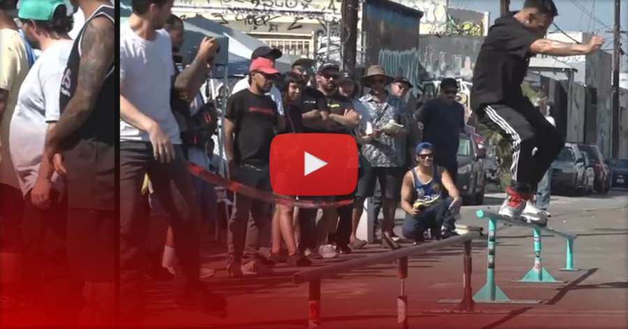 Rollerbladers Destroy Grind Rails for $1,000 Cash Money - Nickel & Dime [Best Switch Up Rail Jam 2021] (Los Angeles) - Intuition Edit by Cody Norman